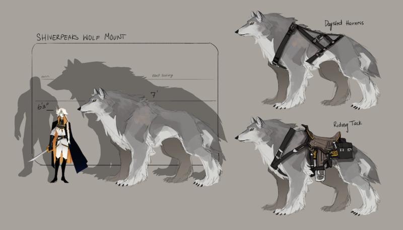 [Hípica de los Queridos]  Un lazo inesperado de un lobo poco común. Ds-shj10
