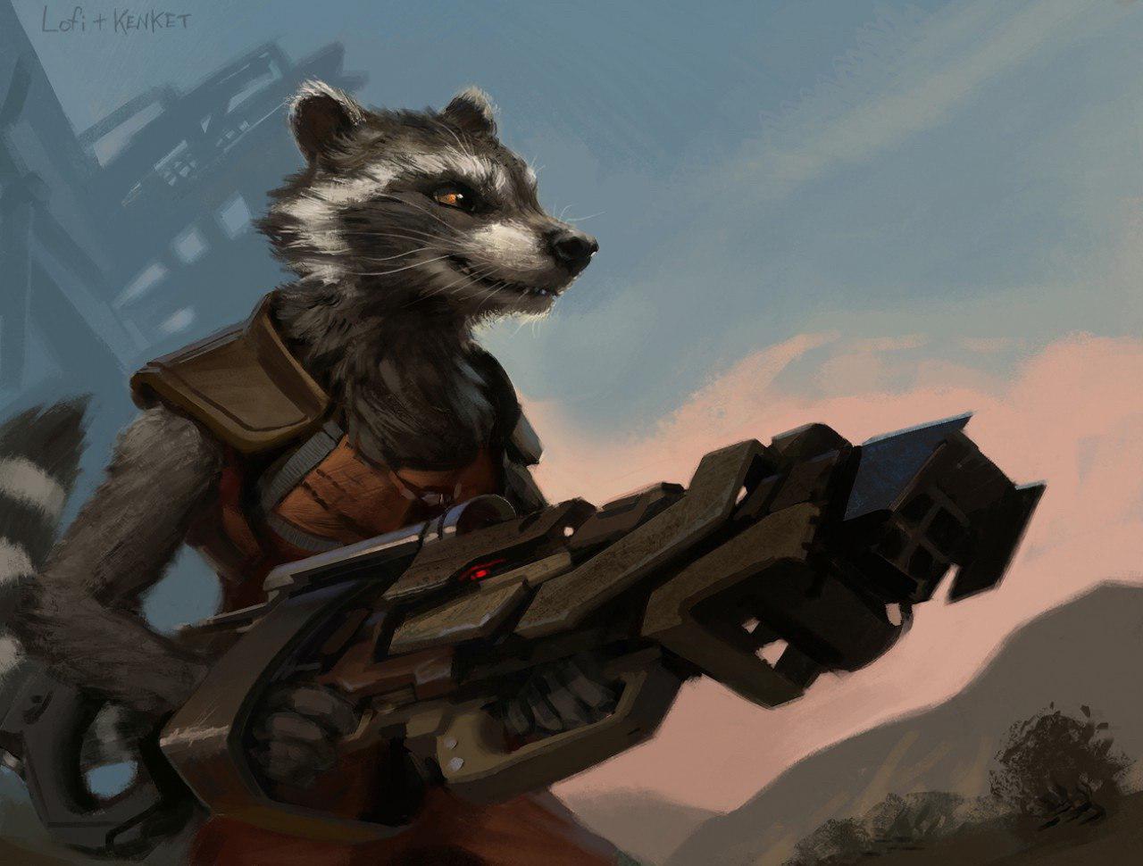 Gadget Raccoon, Constelación de la Familia Photo_25