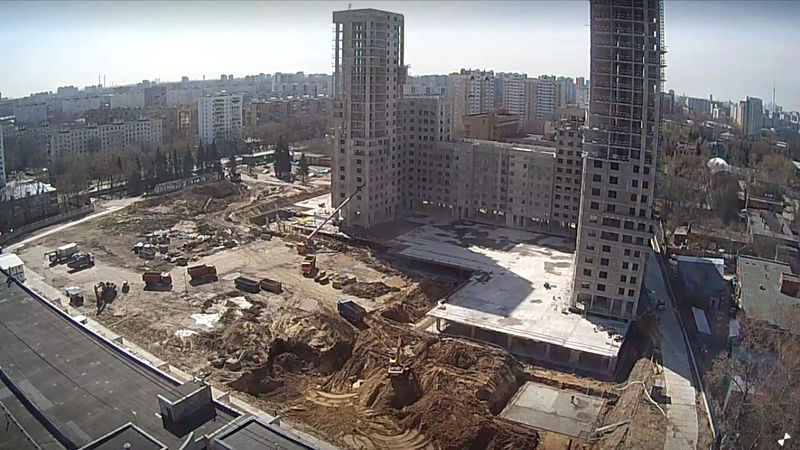 """Веб-камеры на площадке строительства ЖК """"Нормандия"""" - Страница 3 24_04_11"""
