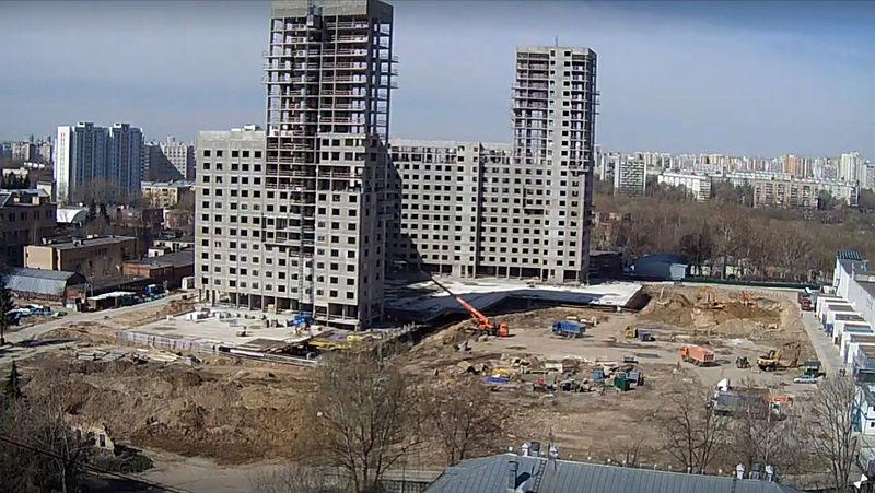 """Веб-камеры на площадке строительства ЖК """"Нормандия"""" - Страница 3 24_04_12"""
