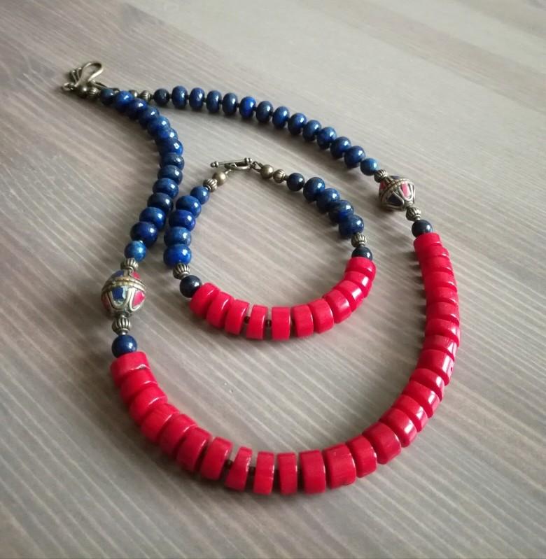 Синие и красное, яркое и летние. Img_2042
