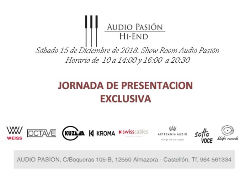 EVENTO FIN DE AÑO EN AUDIO PASIÓN, 15 DIC. Presen10