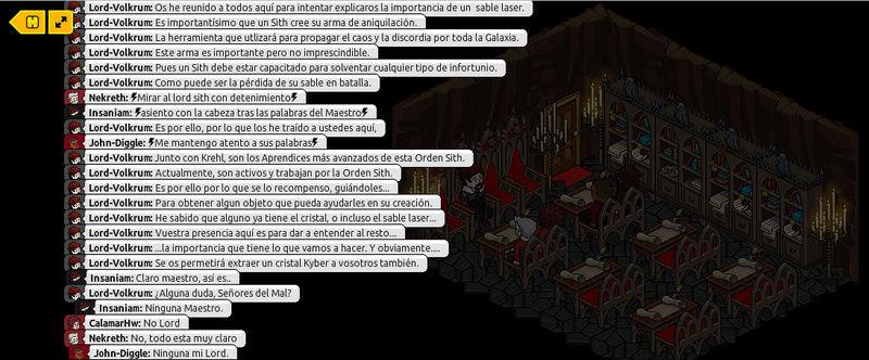 [Roleo de Arkania] Obtención del Kyber. Parte106