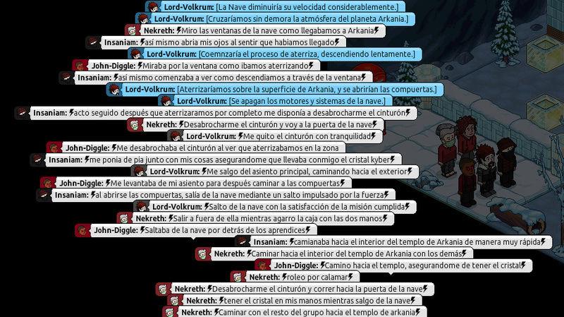 [Roleo de Arkania] Obtención del Kyber. Parte109