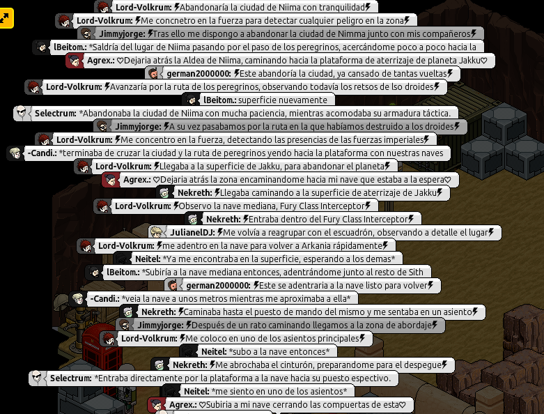 [Arkania] Misiones Temporales. Parte568