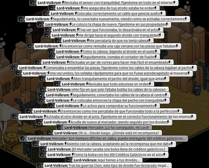 [Kalsunor] Reparación de Droides. Parte802