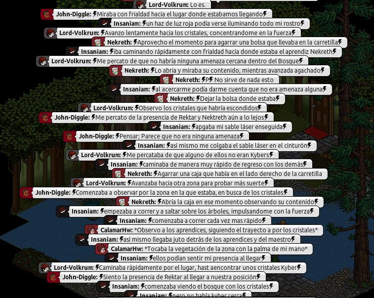 [Roleo de Arkania] Obtención del Kyber. Parte814