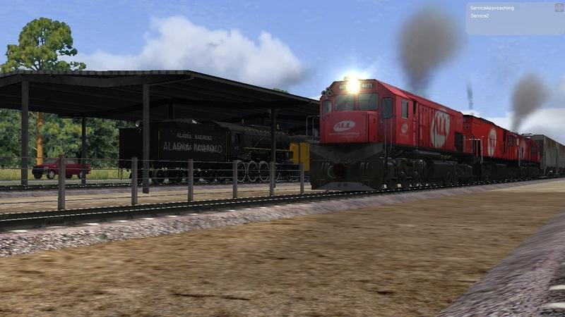 Locomotiva All Rumo Passando No Meu Cenario Rio Negrinho Screen21