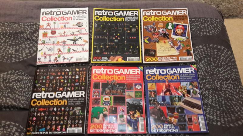 [ECH] Pad ASCII DC , divers Mag JV et jeux video ... Rc110