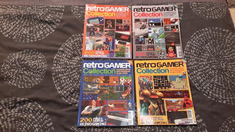 [ECH] Pad ASCII DC , divers Mag JV et jeux video ... Rc210