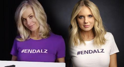 Звезды Молодых и Дерзких присоединились к кампании по борьбе с болезнью Альцгеймера. Endalz10