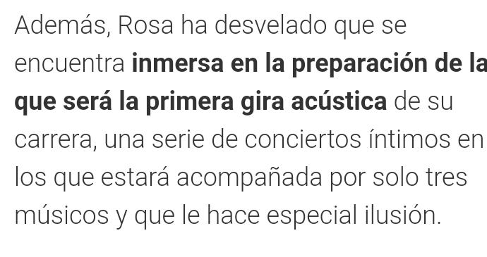 Rosa López >> Preparando nuevo álbum - Página 6 Receiv10