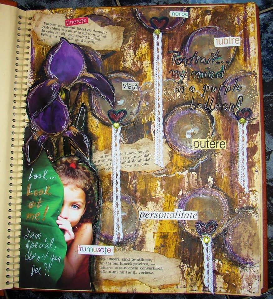Vot provocare Art Journaling - Cinci elemente (Mihaela Deioni) Cornel12