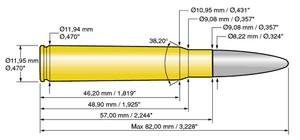 Interchangabilite des munitions sur Gewehr 98 8_57js10