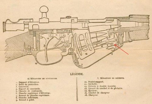 Mousqueton Berthier M16 Galet10