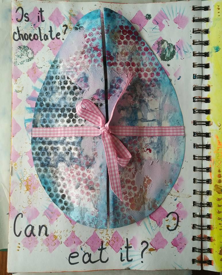 Artjournaling - Take 5 - Aprilie, Ileana Badanac 30874512