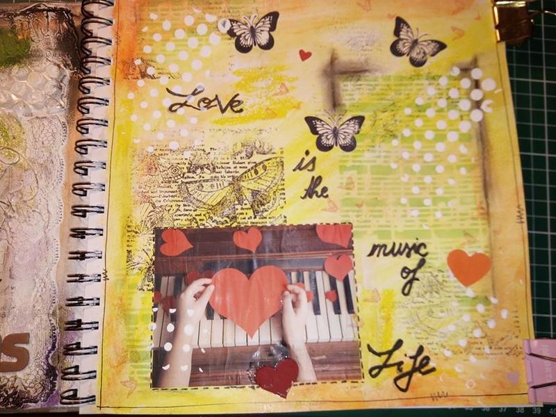 Provocare artjournaling - Take 5 Alina10
