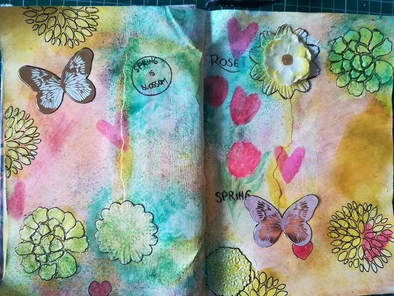 Provocare artjournaling - Take 5 Alina_10