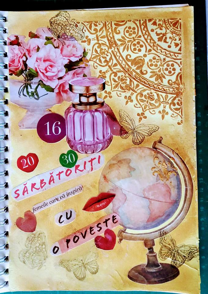 Provocare artjournaling - Take 5 Maria10