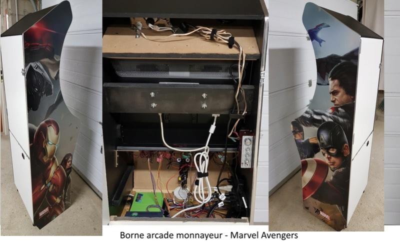 [WIP][TERMINÉ] Bartop - Marvel Avengers - By NetDown Rear10