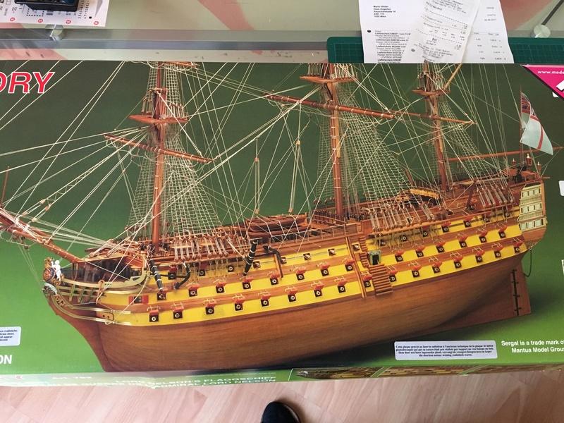 HMS Victory 1:78 gebaut von Schurli48 12811