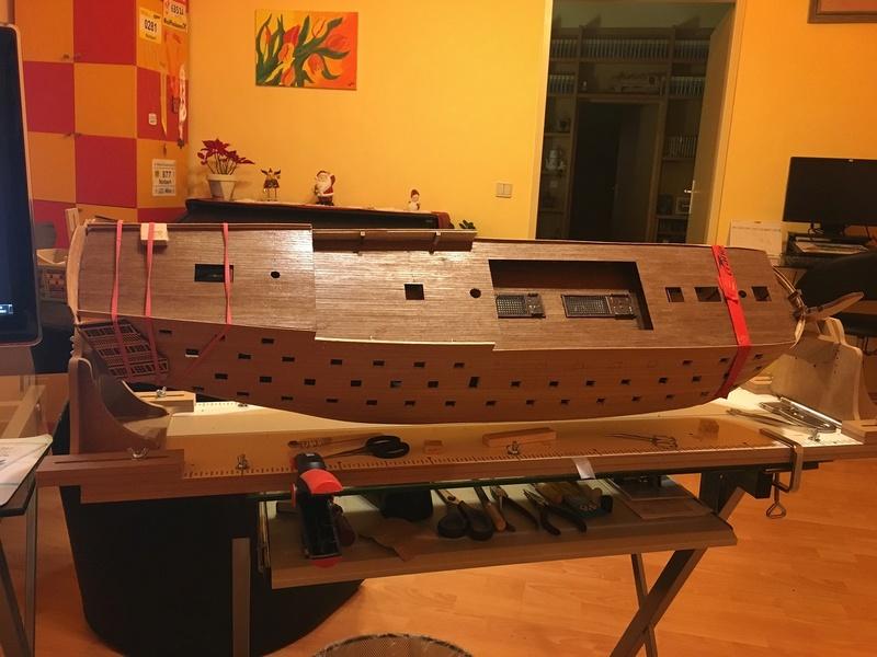 HMS Victory 1:78 gebaut von Schurli48 - Seite 2 Drei10