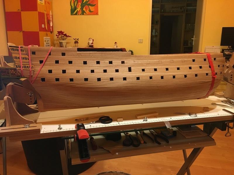 HMS Victory 1:78 gebaut von Schurli48 - Seite 2 Eins10