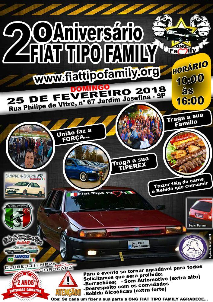 Encontro Fiat Tipo Family - Aniversario 2 anos Encont12