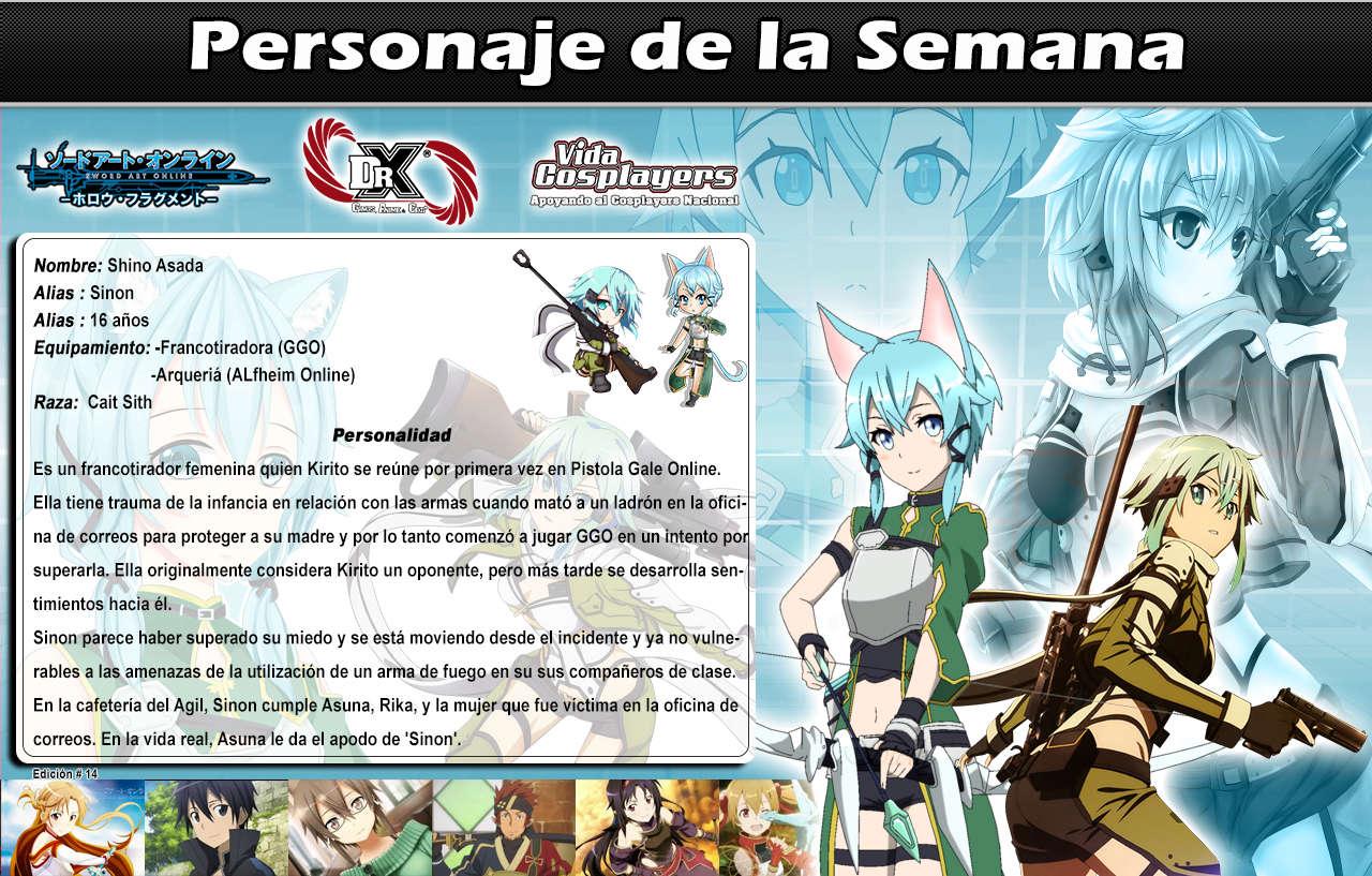 Shino Asada - (Sword Art Online) Ps #14 1410