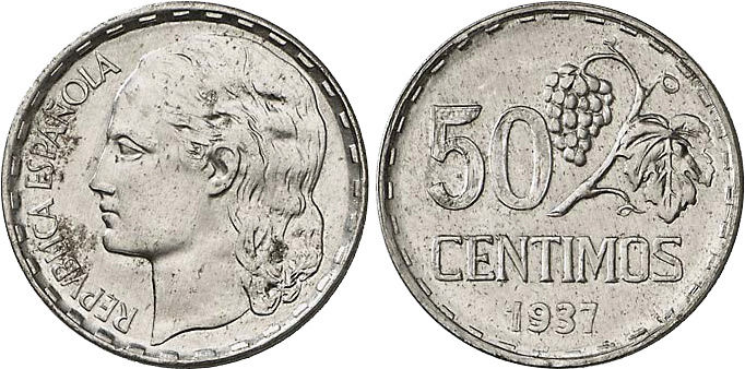 1 Peseta 1937 II República ¿Variante? Aaa12