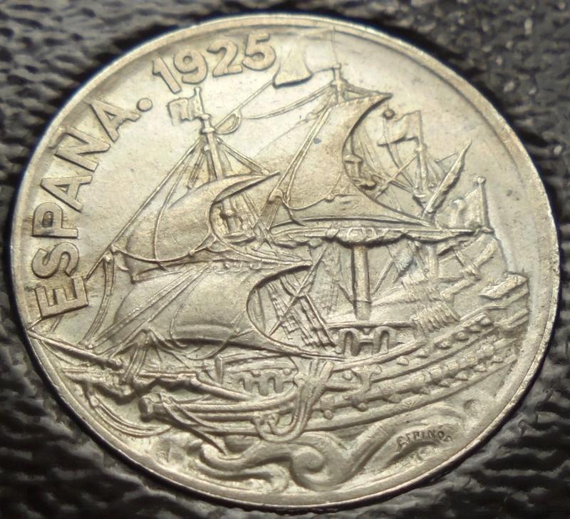 1925 - 25 Centimos 1925 Alfonso XIII OPINION/AYUDA Dsc02613
