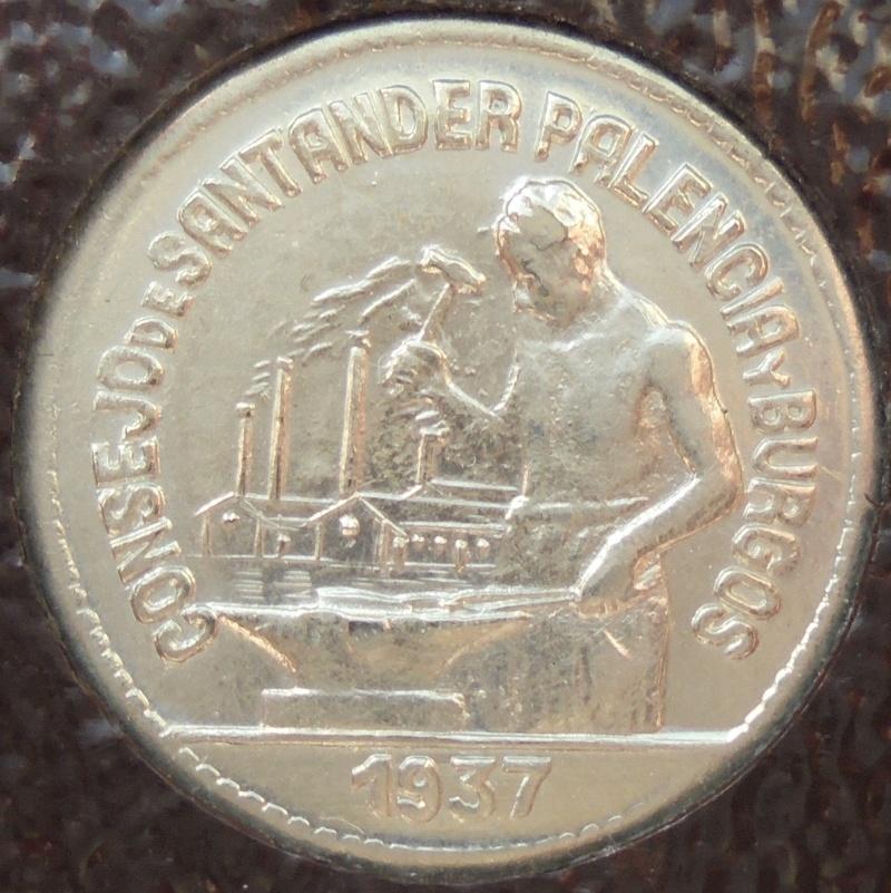 50 céntimos 1937 Consejo Santander, Palencia y Burgos. Guerra Civil Dsc03910