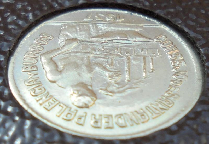 50 céntimos 1937 Consejo Santander, Palencia y Burgos. Guerra Civil Dsc03911