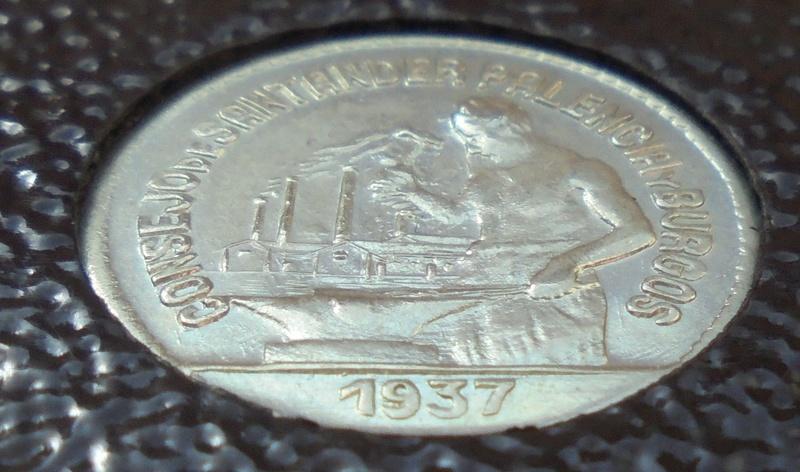 50 céntimos 1937 Consejo Santander, Palencia y Burgos. Guerra Civil Dsc03912