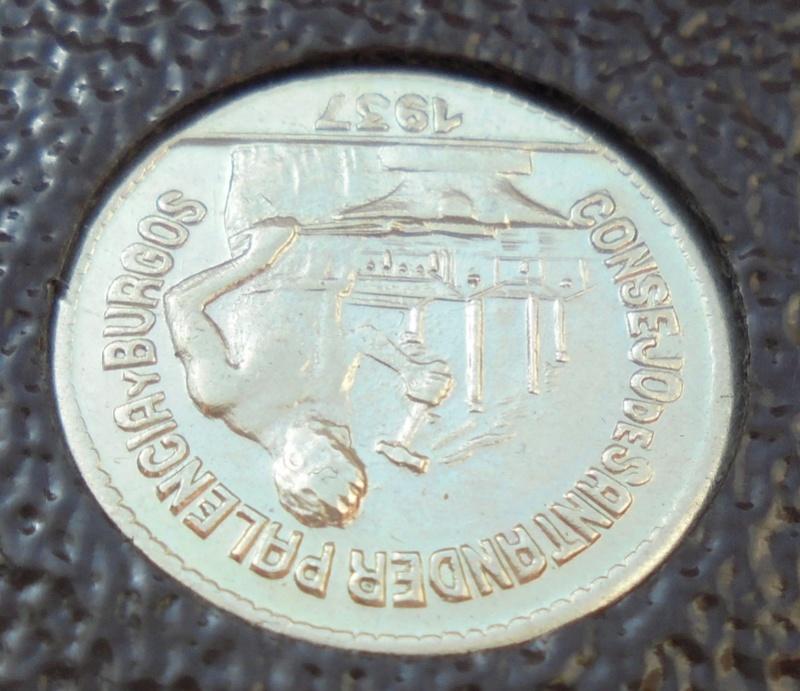 50 céntimos 1937 Consejo Santander, Palencia y Burgos. Guerra Civil Dsc03913