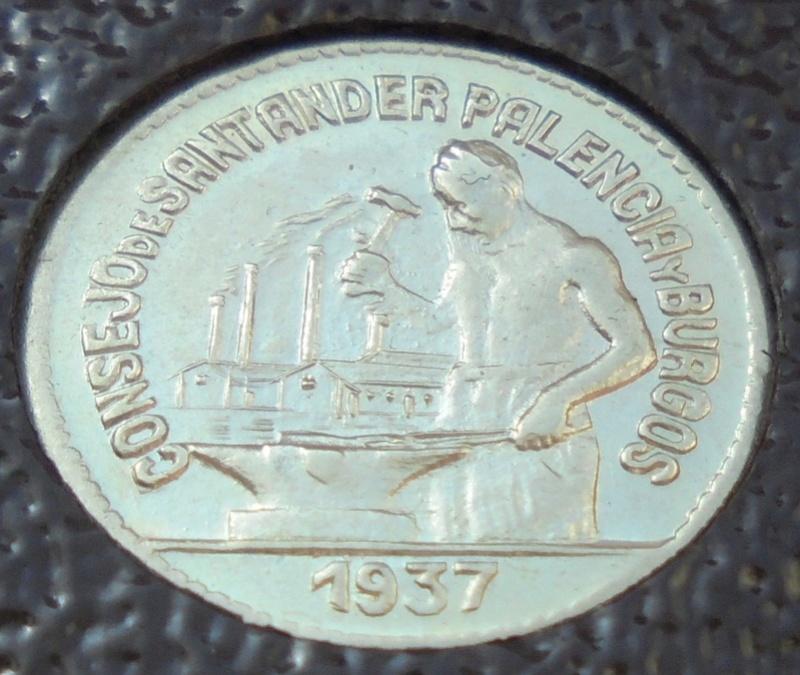 50 céntimos 1937 Consejo Santander, Palencia y Burgos. Guerra Civil Dsc03914