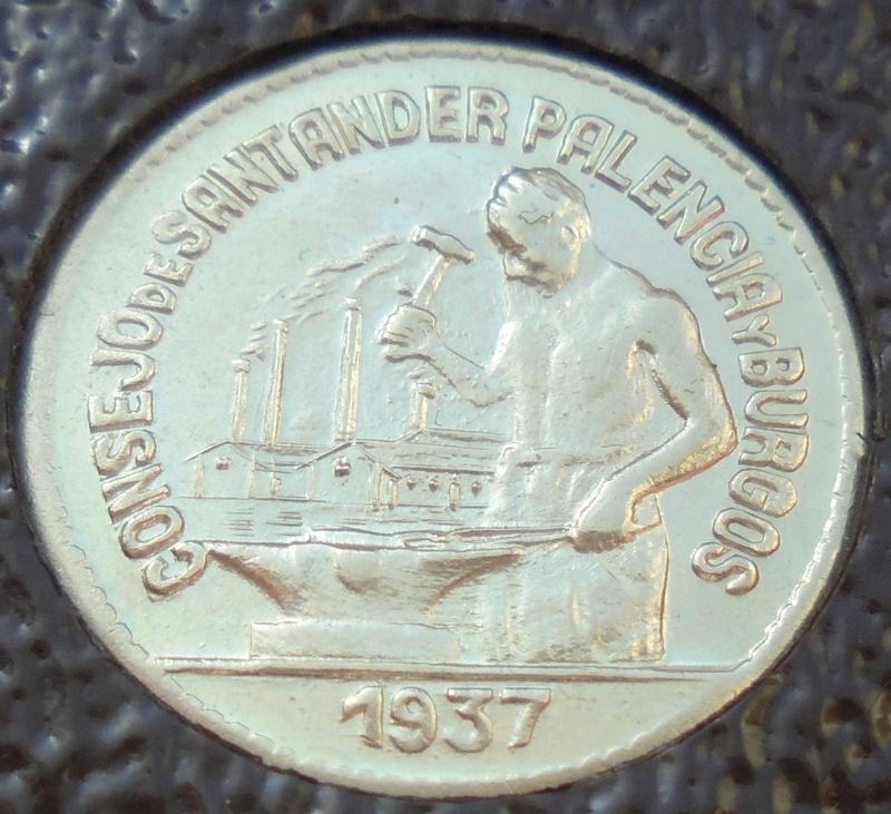 50 céntimos 1937 Consejo Santander, Palencia y Burgos. Guerra Civil Dsc03915
