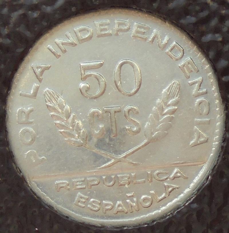 50 céntimos 1937 Consejo Santander, Palencia y Burgos. Guerra Civil Dsc03916