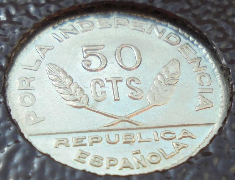 50 céntimos 1937 Consejo Santander, Palencia y Burgos. Guerra Civil Dsc03917