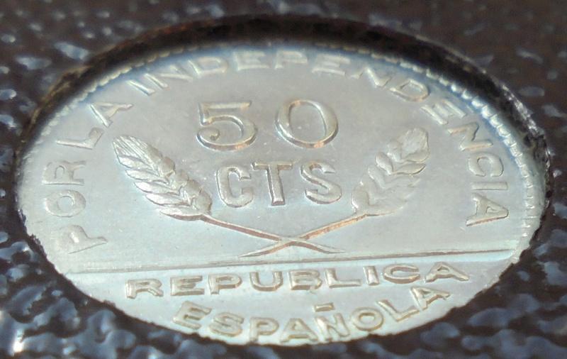 50 céntimos 1937 Consejo Santander, Palencia y Burgos. Guerra Civil Dsc03918