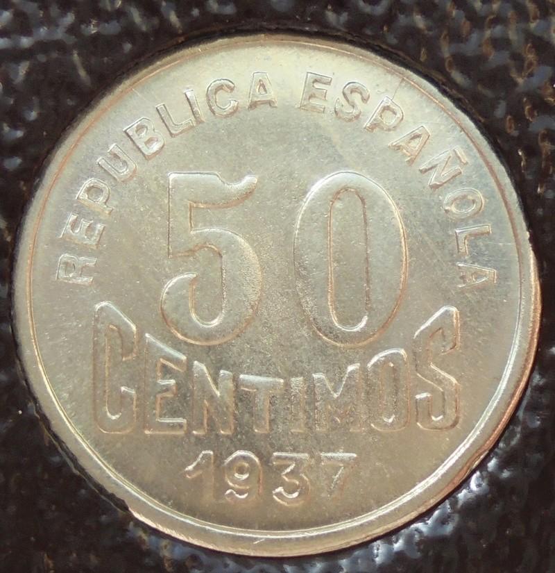 50 céntimos 1937. Consejo de Asturias y León. Guerra Civil Dsc04017