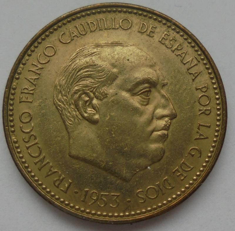 2,50 pesetas 1953 (*19-70). Estado Español Dsc08010