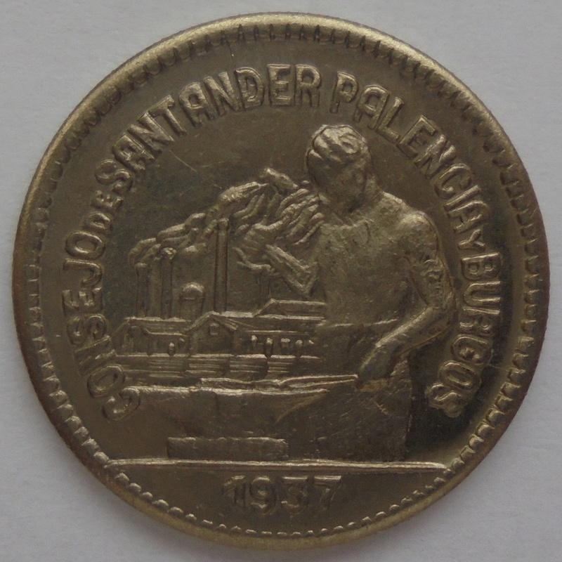 50 céntimos 1937 Consejo Santander, Palencia y Burgos. Guerra Civil Dsc09215