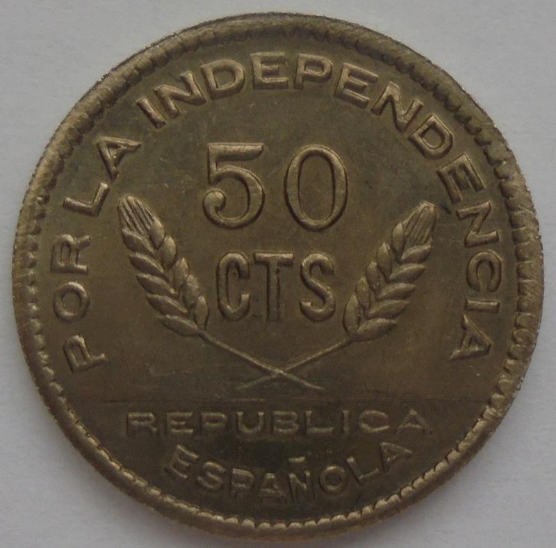 50 céntimos 1937 Consejo Santander, Palencia y Burgos. Guerra Civil Dsc09220