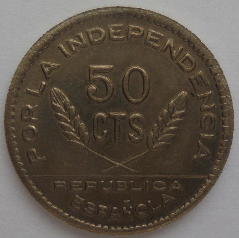 50 céntimos 1937 Consejo Santander, Palencia y Burgos. Guerra Civil Dsc09221