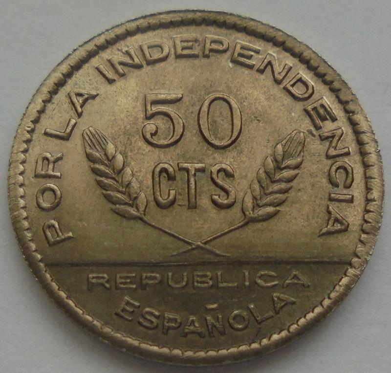 50 céntimos 1937 Consejo Santander, Palencia y Burgos. Guerra Civil Dsc09223