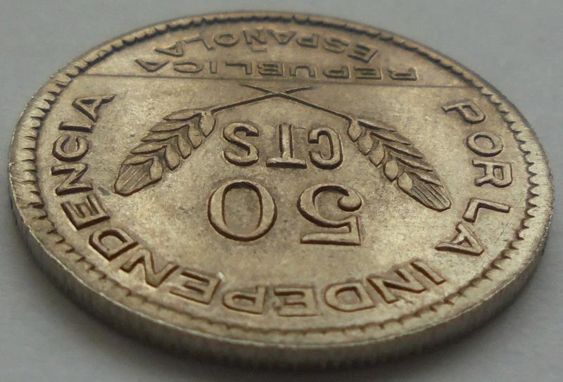 50 céntimos 1937 Consejo Santander, Palencia y Burgos. Guerra Civil Dsc09310