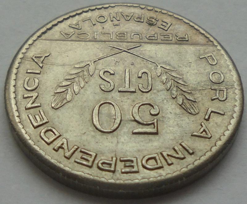 50 céntimos 1937. PJR. Consejo Santander, Palencia y Burgos. Guerra Civil Dsc09412