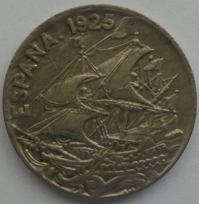 1925 - 25 Centimos 1925 Alfonso XIII OPINION/AYUDA Dsc09415