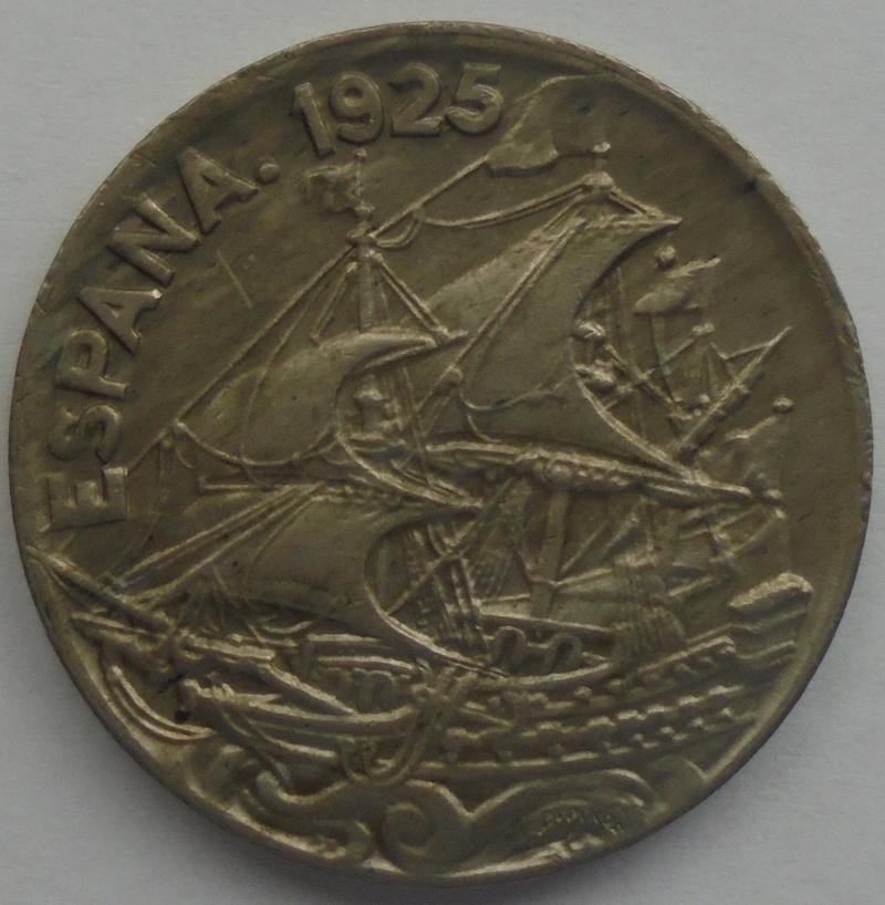 1925 - 25 Centimos 1925 Alfonso XIII OPINION/AYUDA Dsc09416